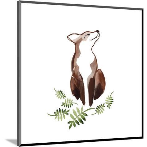 Fox's Delight--Mounted Art Print