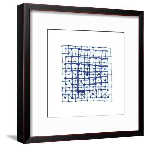 Shibori - Koshi--Framed Art Print