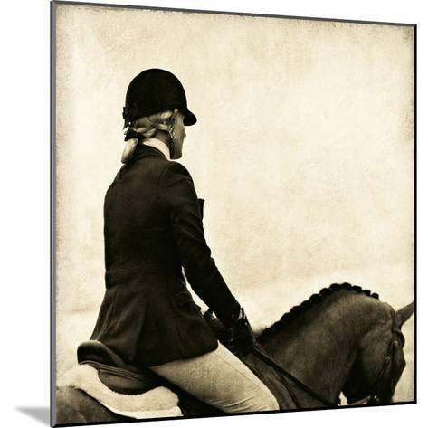 Vintage Equestrian - Ride--Mounted Giclee Print