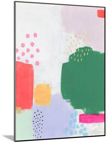 Dots and Colours - Dapple--Mounted Giclee Print