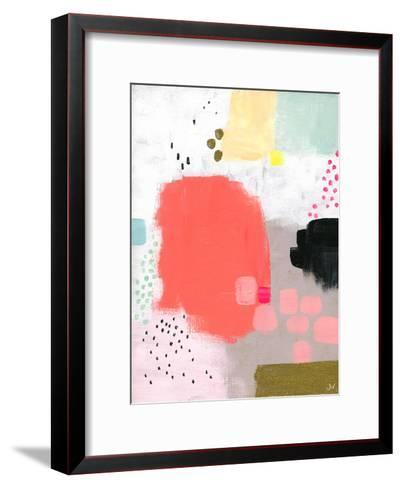 Dots and Colours - Stipple--Framed Art Print