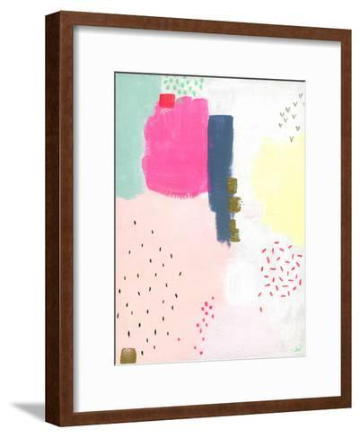 Dots and Colours - Speckle--Framed Art Print