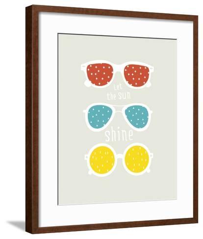 Let the Sun Shine--Framed Art Print