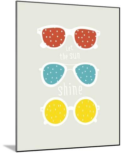 Let the Sun Shine--Mounted Giclee Print