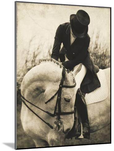 Vintage Equestrian - Transition--Mounted Giclee Print