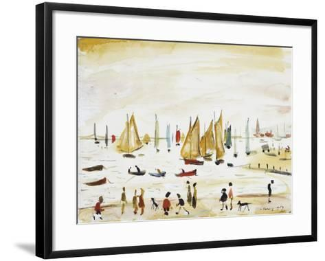 Yachts, 1959--Framed Art Print