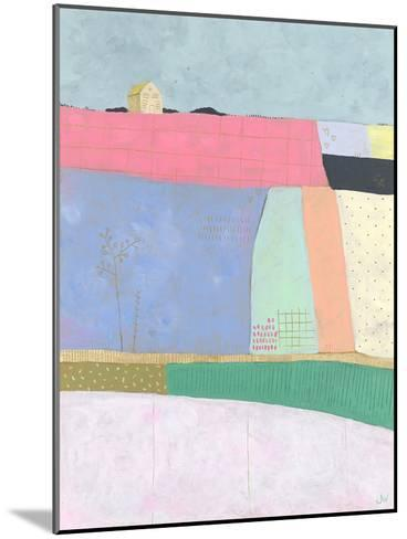 Live Colourfully - Patchwork--Mounted Giclee Print