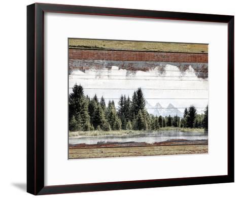 Alpine Range - Lemhi--Framed Art Print