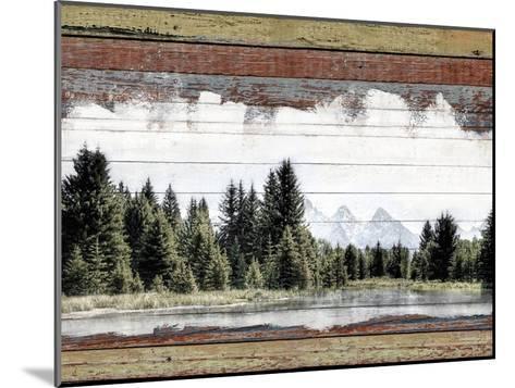 Alpine Range - Lemhi--Mounted Giclee Print