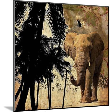 Mighty Elephant 2-GraphINC-Mounted Art Print