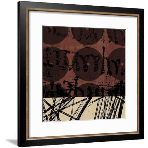 Fibers 1-GraphINC-Framed Art Print