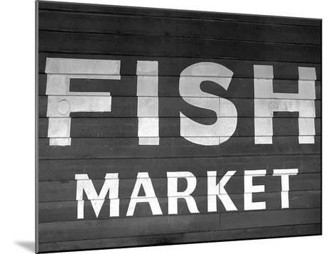 Fish Market-PhotoINC Studio-Mounted Art Print