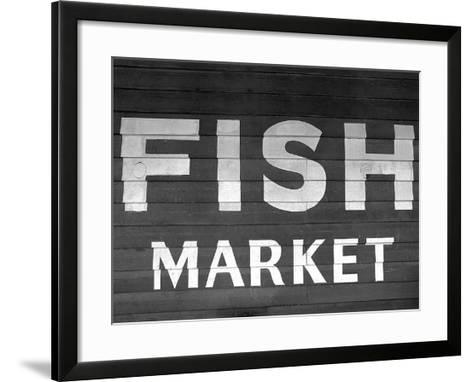 Fish Market-PhotoINC Studio-Framed Art Print
