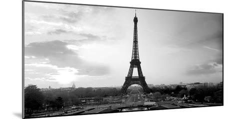 The Eiffel Tower-PhotoINC Studio-Mounted Art Print