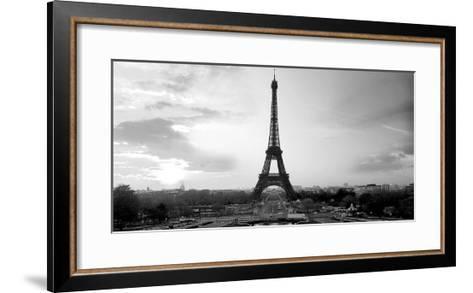 The Eiffel Tower-PhotoINC Studio-Framed Art Print