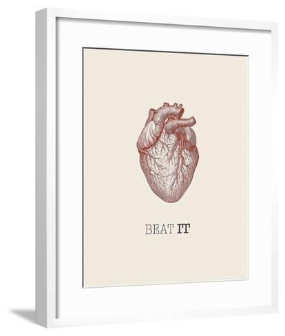 Beat It-GraphINC-Framed Art Print