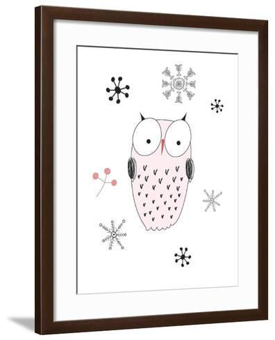 Owl III-GraphINC-Framed Art Print