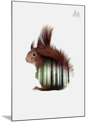 Squirrel-Clean Nature-Mounted Art Print