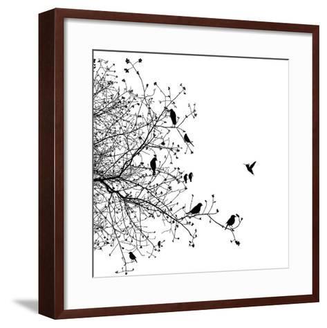 Bird I-GraphINC-Framed Art Print