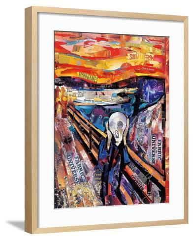 The Scream-James Grey-Framed Art Print