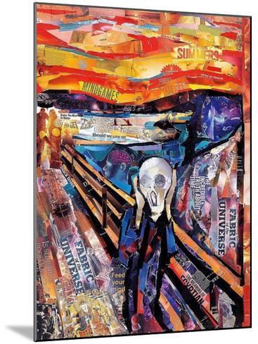 The Scream-James Grey-Mounted Art Print