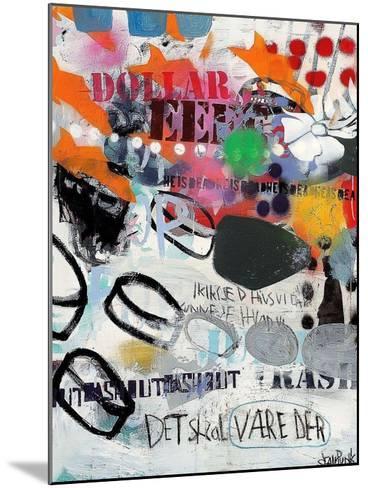 Discs-Sean Punk-Mounted Art Print