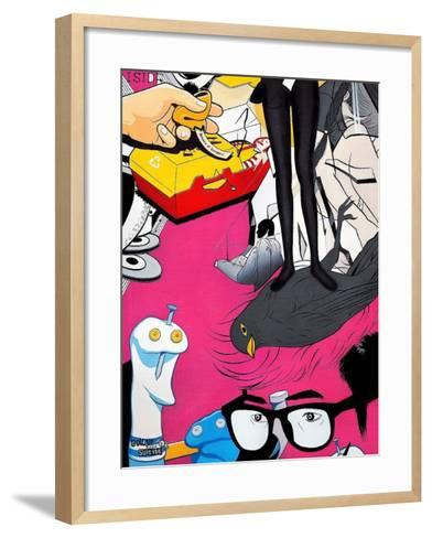 "She""s Got the Look-Colourblind Suicide -Framed Art Print"