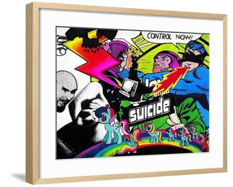 Whatever You Like-Colourblind Suicide -Framed Art Print