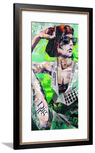 Cool-James Grey-Framed Art Print