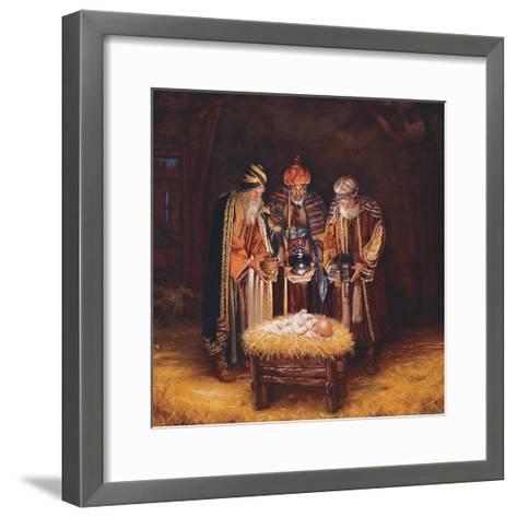 Three Wisemen-Mark Missman-Framed Art Print
