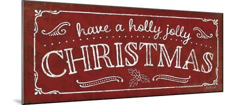 Holly Jolly Christmas-Jennifer Pugh-Mounted Art Print