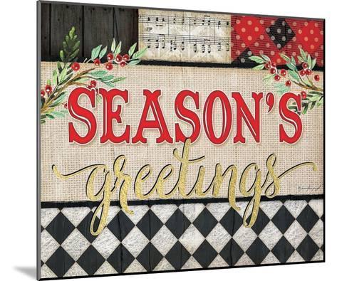 Season's Greetings-Jennifer Pugh-Mounted Art Print