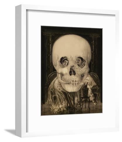 Pierrot's Love--Framed Art Print