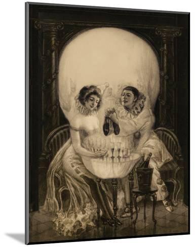 Pierrot's Love--Mounted Art Print