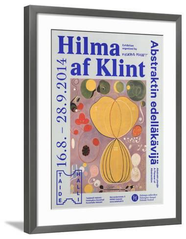 The Ten Largest, No. 7, Adulthood Group IV-Hilma af Klint-Framed Art Print