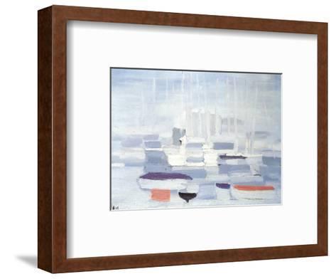 Boats in the Harbour-Nicolas De Stael-Framed Art Print
