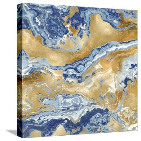 Onyx Royal-Danielle Carson-Stretched Canvas Print
