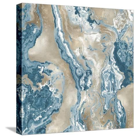 Onyx Teal-Danielle Carson-Stretched Canvas Print
