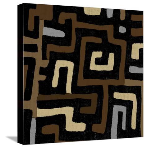 Mudcloth I-Ellie Roberts-Stretched Canvas Print