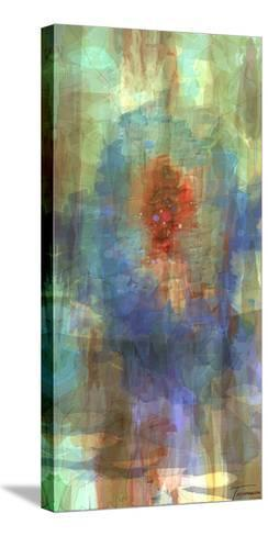 Tryptic Visions Center-Michael Tienhaara-Stretched Canvas Print