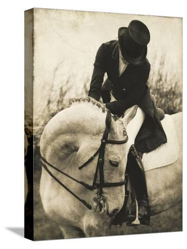 Vintage Equestrian - Transition--Stretched Canvas Print