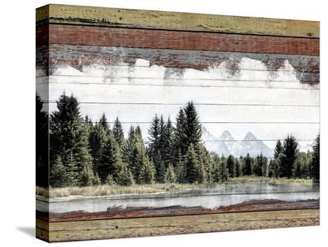 Alpine Range - Lemhi--Stretched Canvas Print