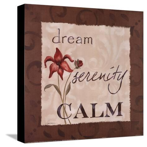 Serenity-Carol Robinson-Stretched Canvas Print