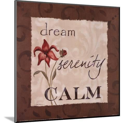 Serenity-Carol Robinson-Mounted Art Print