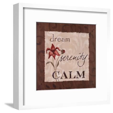 Serenity-Carol Robinson-Framed Art Print