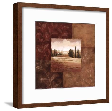 Poppy Fields II-Viv Bowles-Framed Art Print