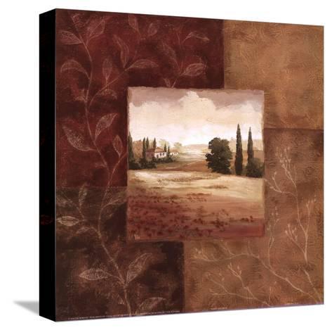 Poppy Fields II-Viv Bowles-Stretched Canvas Print