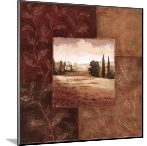 Poppy Fields II-Viv Bowles-Mounted Art Print