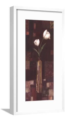 Romantic Tulip-Kate and Liz Pope-Framed Art Print