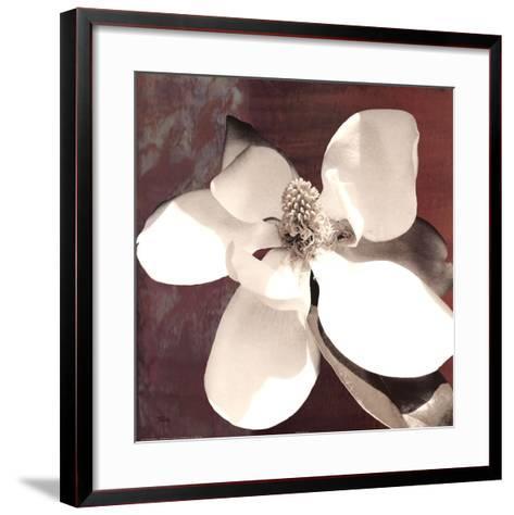 Magnolia Blue I-Katrina Craven-Framed Art Print